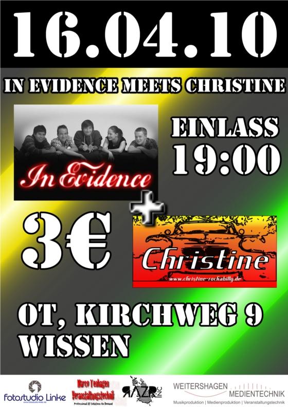 Evidence meets Christine   Michael Plas