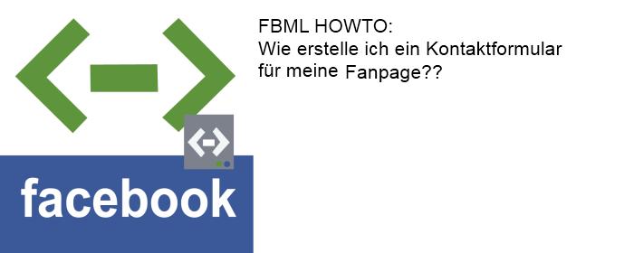 FBML: So füge ich ein Kontaktformular in meine Facebook-Fanpage ein